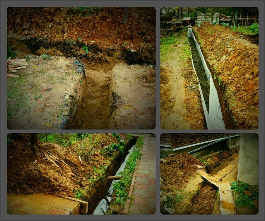 Как сделать дренаж на глинистых почвах 712